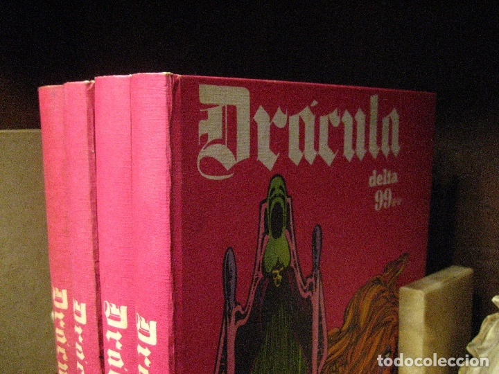 Cómics: DRACULA TOMOS 2,3,4,5 Editorial Burulan 1972 REF ENCI - Foto 9 - 130872816