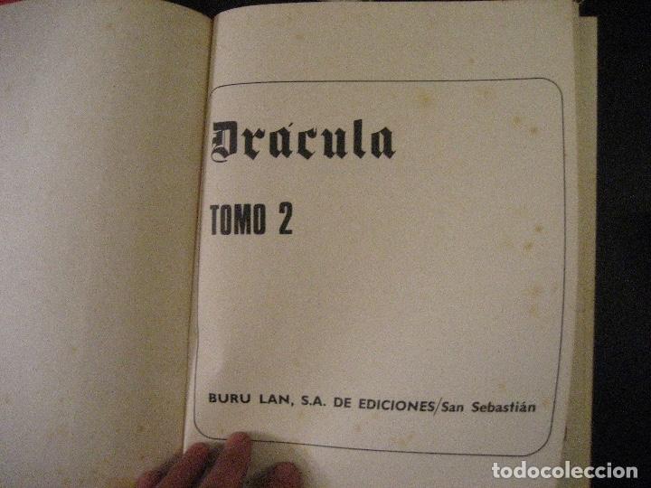 Cómics: DRACULA TOMOS 2,3,4,5 Editorial Burulan 1972 REF ENCI - Foto 18 - 130872816