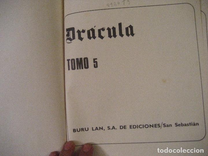 Cómics: DRACULA TOMOS 2,3,4,5 Editorial Burulan 1972 REF ENCI - Foto 19 - 130872816