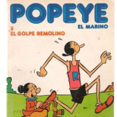 Cómics: POPEYE, EL MARINO. Nº 5. EL GOLPE REMOLINO. BURULAN 1983. (Z/C7). Lote 131331954