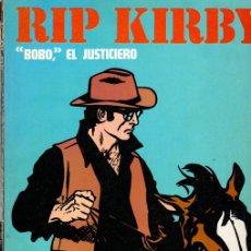 Cómics: RIP KIRBY. BOBO, EL JUSTICIERO. BURULAN, 1974. Lote 131406754