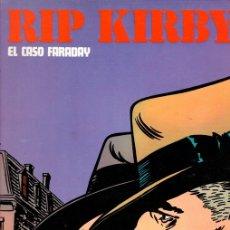 Cómics: RIP KIRBY. EL CASO FARADAY. BURULAN, 1974. Lote 131406977