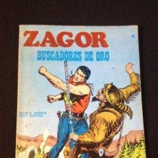 Cómics: ZAGOR Nº 10 BURULAN. BUSCADORES DE ORO.. Lote 131467329