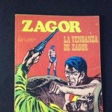 Cómics: ZAGOR , Nº 11 , LA VENGANZA DE ZAGOR. BURU LAN.. Lote 131467357