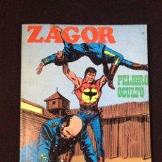 Cómics: ZAGOR Nº 14 BURU LAN. PELIGRO OCULTO. Lote 131467454