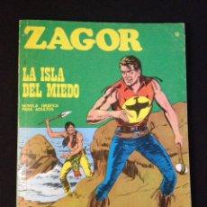 Cómics: ZAGOR 15 BURU LAN. LA ISLA DEL MIEDO.. Lote 131467507