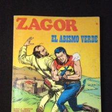 Cómics: ZAGOR - Nº 18 - EL ABISMO VERDE - BURU LAN - 1972.. Lote 131467594