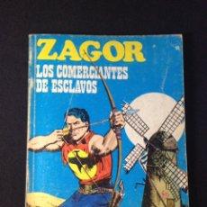 Cómics: ZAGOR Nº 19 BURULAN. LOS COMERCIANTES DE ESCLAVOS.. Lote 131467610