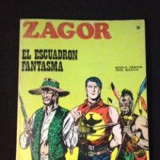 Cómics: ZAGOR , Nº 20 , EL ESCUADRON FANTASMA. BURU LAN.. Lote 131467630