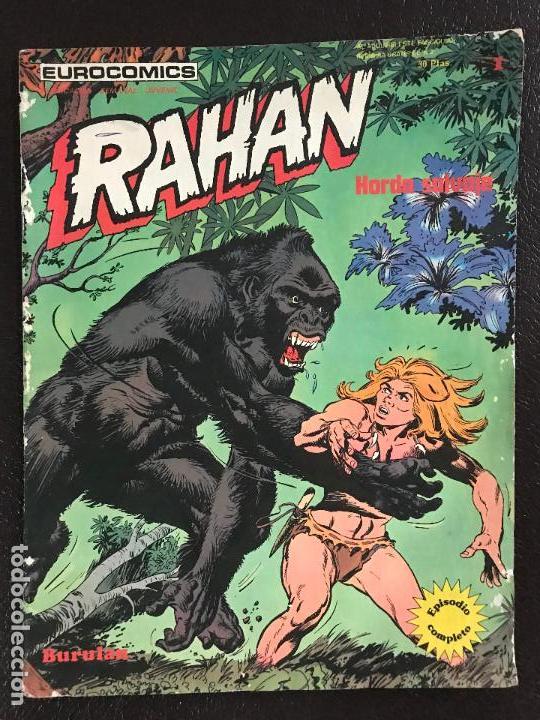 FANTASTICO NUMERO 1 RAHAN MUY BUEN ESTADO 1974 (Tebeos y Comics - Buru-Lan - Rahan)