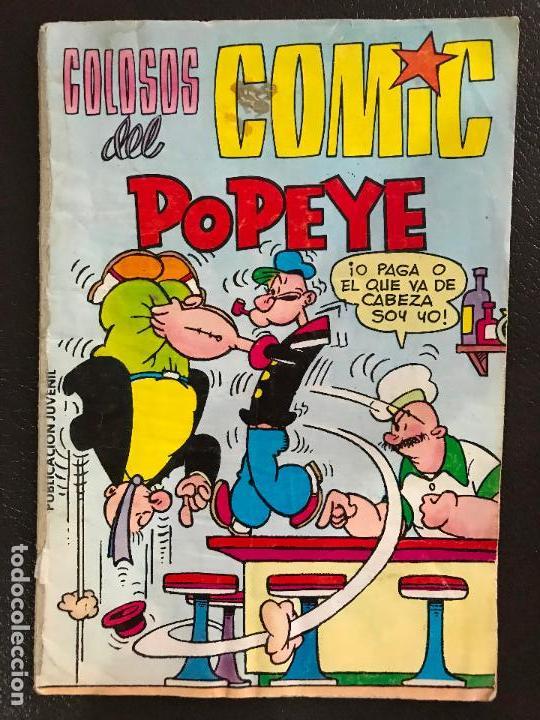 BIBLIOTECA BURU LAN POPEYE Nº3 : CAMPEON DE BOXEO (Tebeos y Comics - Buru-Lan - Popeye)