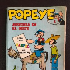 Cómics: POPEYE AVENTURAS EN EL OESTE 6. Lote 131575774