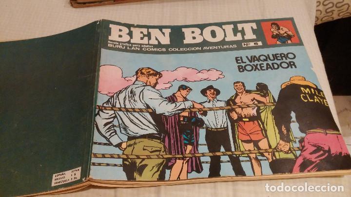 BEN BOLT- Nº 5- EL VAQUERO BOXEADOR (Tebeos y Comics - Buru-Lan - Otros)