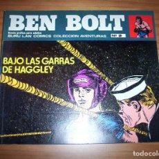 Cómics: BEN BOLT - NÚMERO 2: BAJO LAS GARRAS DE HAGGLEY - AÑO 1973 - MUY BUEN ESTADO. Lote 131924682