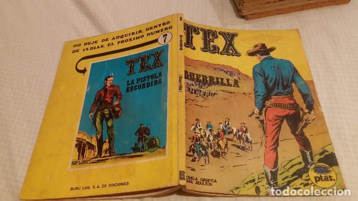 TEX - Nº 6 -GUERRILLA - 1970 (Tebeos y Comics - Buru-Lan - Tex)