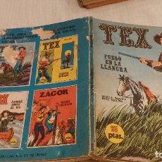 Cómics: TEX- FUEGO EN LA LLANURA - Nº 17 - BURU LAN - 1971. Lote 132389794