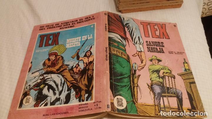 TEX - NUMERO 44 - SANGRE NAVAJA - BURULAN - (Tebeos y Comics - Buru-Lan - Tex)