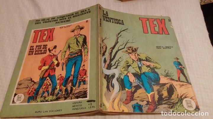 TEX. Nº 52. LA VENTISCA. BURU LAN (Tebeos y Comics - Buru-Lan - Tex)