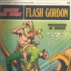 Cómics: FLASH GORDON HEROES DEL COMIC BURU LAN FASCÍCULO Nº 11. Lote 132642322