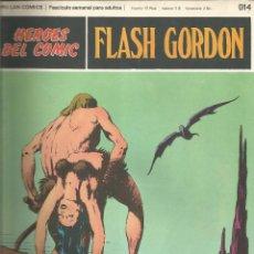 Cómics: FLASH GORDON HEROES DEL COMIC BURU LAN FASCÍCULO Nº 14. Lote 132642442