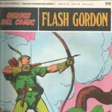 Cómics: FLASH GORDON HEROES DEL COMIC BURU LAN FASCÍCULO Nº 15. Lote 132642478
