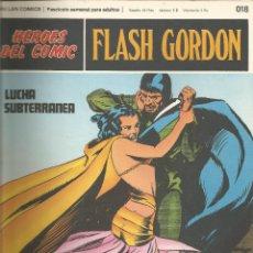 Cómics: FLASH GORDON HEROES DEL COMIC BURU LAN FASCÍCULO Nº 18. Lote 132642618