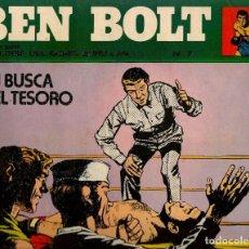 Cómics: BEN BOLT. Nº 7. BURU LAN 1973.(ST/). Lote 132784210