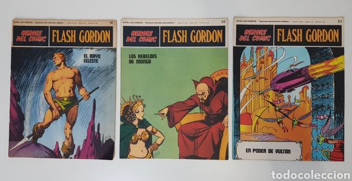 FLASH GORDON EL RAYO CELESTE 01 - LOS REBELDES DE MONGO 02- EL PODER DE VULTAN 03 - TOMO 01 (Tebeos y Comics - Buru-Lan - Flash Gordon)