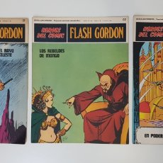 Cómics: FLASH GORDON EL RAYO CELESTE 01 - LOS REBELDES DE MONGO 02- EL PODER DE VULTAN 03 - TOMO 01. Lote 132915743