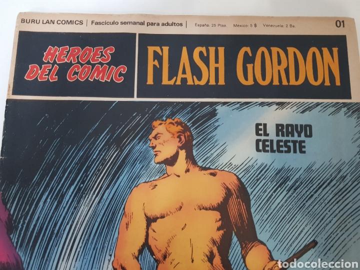 Cómics: FLASH GORDON EL RAYO CELESTE 01 - LOS REBELDES DE MONGO 02- EL PODER DE VULTAN 03 - TOMO 01 - Foto 3 - 132915743