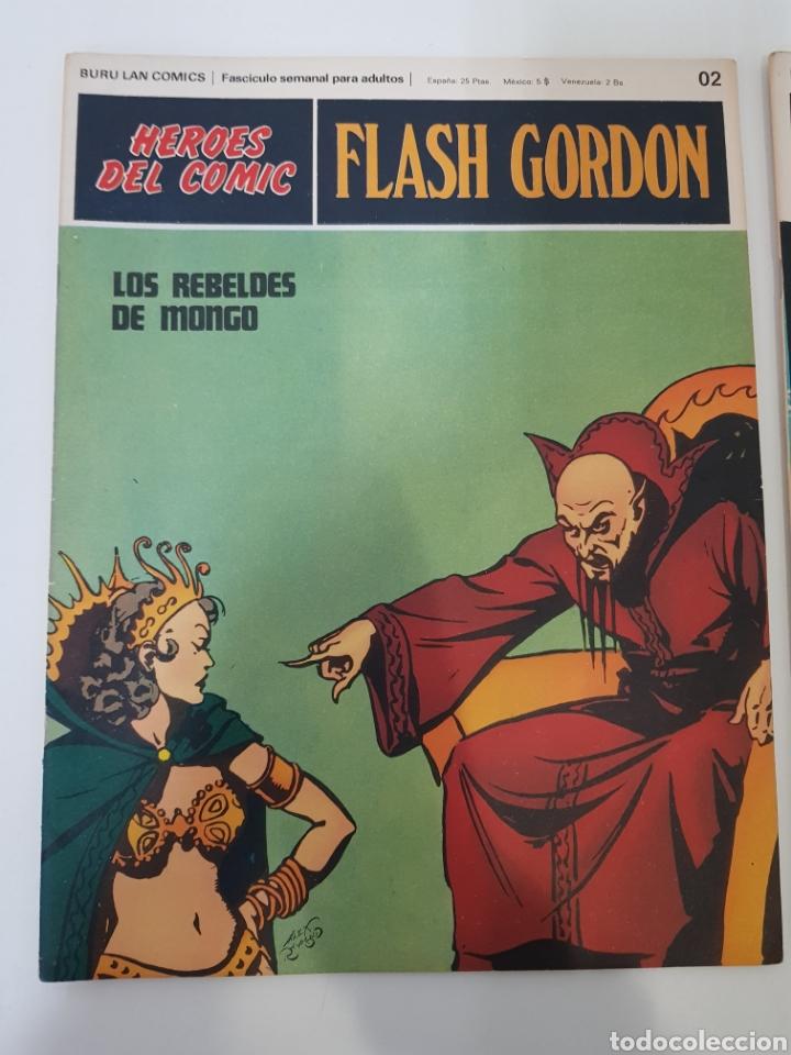 Cómics: FLASH GORDON EL RAYO CELESTE 01 - LOS REBELDES DE MONGO 02- EL PODER DE VULTAN 03 - TOMO 01 - Foto 10 - 132915743