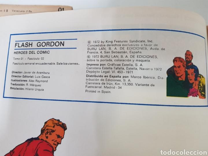 Cómics: FLASH GORDON EL RAYO CELESTE 01 - LOS REBELDES DE MONGO 02- EL PODER DE VULTAN 03 - TOMO 01 - Foto 11 - 132915743