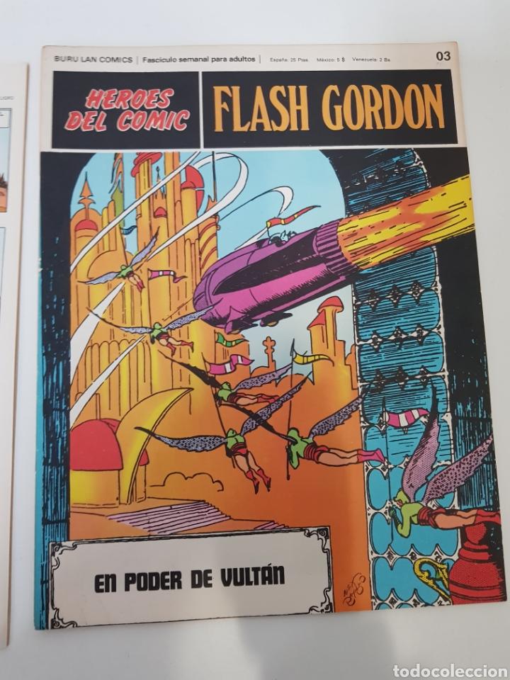 Cómics: FLASH GORDON EL RAYO CELESTE 01 - LOS REBELDES DE MONGO 02- EL PODER DE VULTAN 03 - TOMO 01 - Foto 14 - 132915743