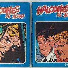 Cómics: HALCONES DE ACERO - COLECCION COMPLETA. TOMOS 1 Y 2. BUEN ESTADO. 1974. REBAJADO!!. Lote 133036070