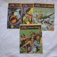Cómics: LOTE DE 4 COMICS 'HEROES DEL COMIC' ED BURU LAN. Lote 133212090