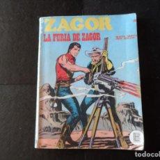 Cómics: ZAGOR - LA FURIA DE ZAGOR Nº 28 - 1972 EDITORIAL BURULAN BURU LAN. Lote 133474278