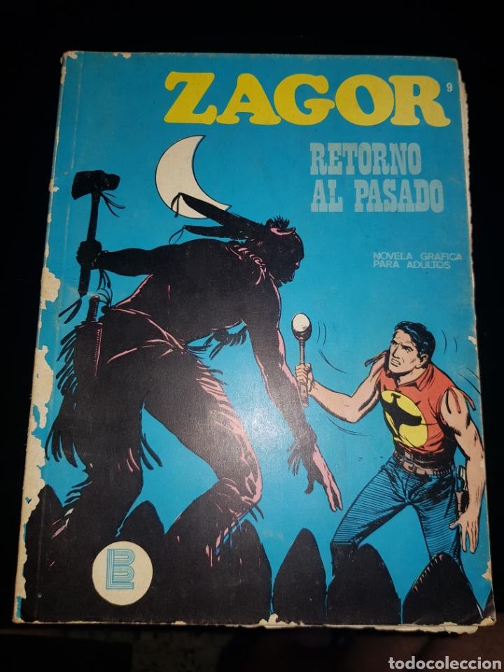 ZAGOR RETORNO AL PASADO NÚMERO 9 BURU LAN (Tebeos y Comics - Buru-Lan - Zagor)