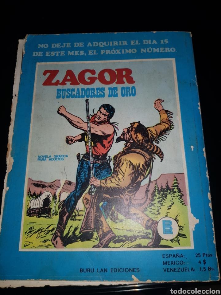 Cómics: ZAGOR RETORNO AL PASADO NÚMERO 9 BURU LAN - Foto 2 - 134208803
