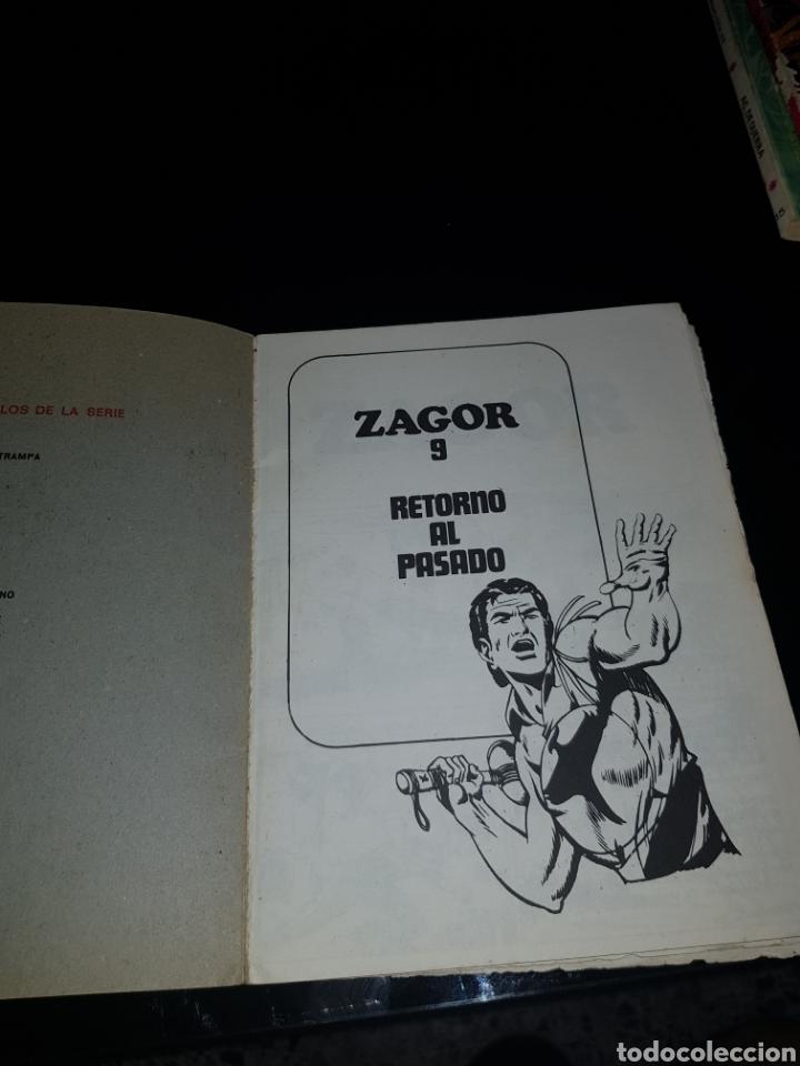 Cómics: ZAGOR RETORNO AL PASADO NÚMERO 9 BURU LAN - Foto 3 - 134208803