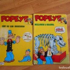 Cómics: POPEYE / REY DE LAS ESPINACAS - Nº 1 -MILLONES A GRANEL- N 24- EDITORIAL BURU LAN -. Lote 134416582