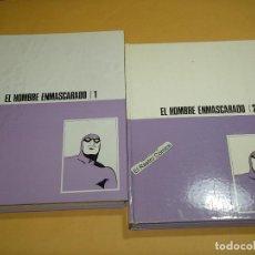 Cómics: EL HOMBRE ENMASCARADO TOMOS MORADOS Nº 1 Y 2, ED BURULAN, BURU LAN, HEROES DEL COMIC, ERCOM. Lote 134432718