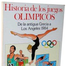 Cómics: HISTORIA DE LOS JUEGOS OLÍMPICOS. DE LA ANTIGUA GRECIA A LOS ANGELES 1984. JAIMES LIBROS. BURULAN. Lote 134437846