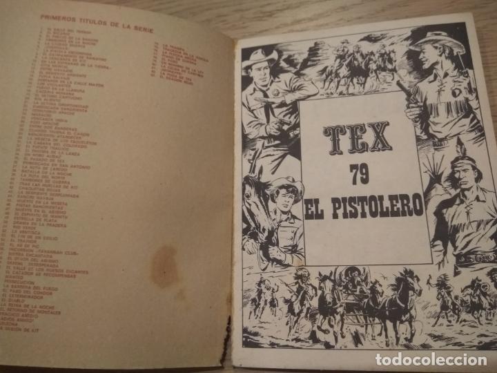 Cómics: TEX BURULAN 79 EL PISTOLERO 1971 - Foto 3 - 134492386