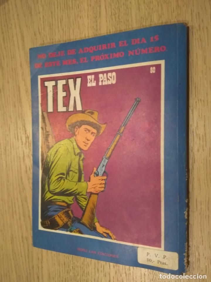 Cómics: TEX BURULAN 79 EL PISTOLERO 1971 - Foto 4 - 134492386