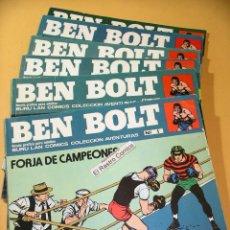 Comics - Ben Bolt, lote con los nº 1 2 3 5 6 y 7, Buru Lan, año 1973, burulan, ercom - 134673518