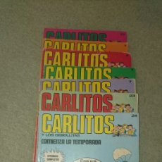 Cómics: LOTE CÓMIC CARLITOS. Lote 134929775