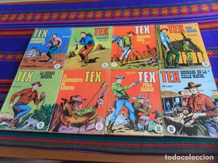 TEX NºS 5 8 14 15 20 22 24 25 26. BURU LAN 1970. 25 PTS. BUEN ESTADO. (Tebeos y Comics - Buru-Lan - Tex)