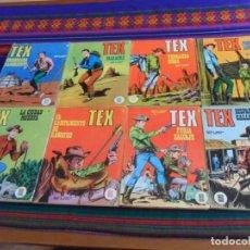 Cómics: TEX NºS 5 8 14 15 20 22 24 25 26. BURU LAN 1970. 25 PTS. BUEN ESTADO.. Lote 135384526