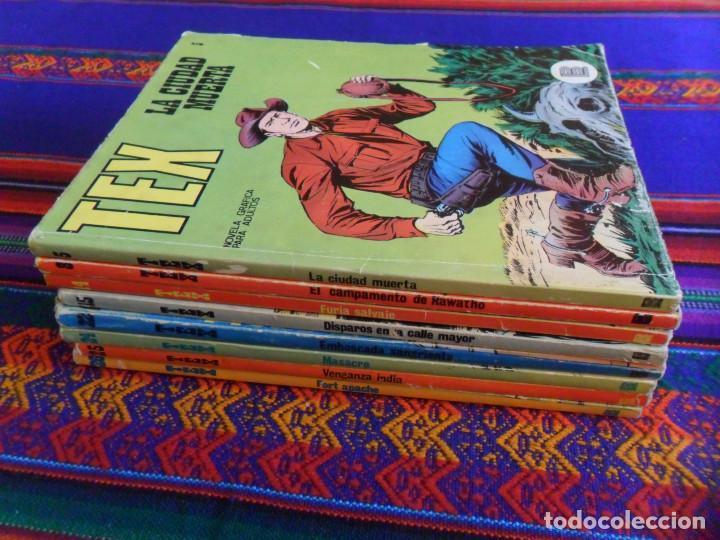 Cómics: TEX NºS 5 8 14 15 20 22 24 25 26. BURU LAN 1970. 25 PTS. BUEN ESTADO. - Foto 2 - 135384526