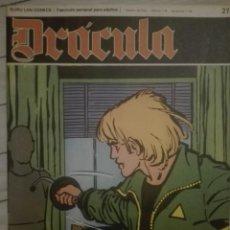 Cómics: DRACULA 27.1972.EN BUEN ESTADO. Lote 135523434